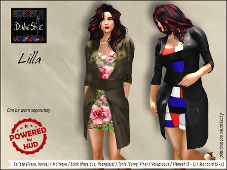 :: D!vine Style :: Lilla - Long Coat
