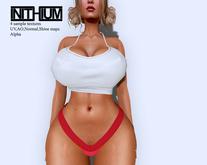byCrash Full perm mesh-Crop top and panties KUPRA ONLY