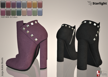 :: SA ::  Jorja - Ankle Boots with HUD