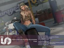 ACT5-590-Female Motorcycle Sit Backwards Pose BOXED