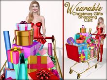 Boudoir-Wearable Christmas Gifts Shopping Cart
