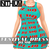 OX Apparel - Festival Dress / DEMO