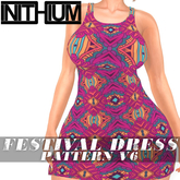 OX Apparel - Festival Dress / Pattern V6