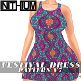 OX Apparel - Festival Dress / Pattern V7