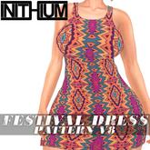 OX Apparel - Festival Dress / Pattern V8