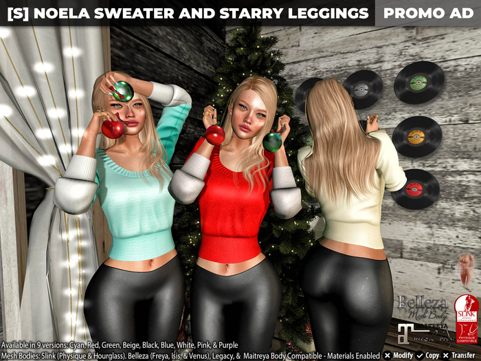 [S] Noela Sweater & Starry Leggings Demo