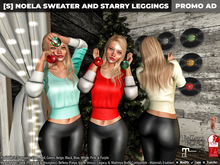 [S] Noela Sweater & Starry Leggings Demo
