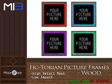 [MB3] Fic-Torian Picture Frames - Wood