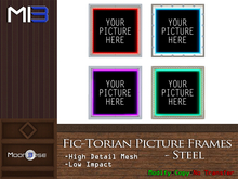 [MB3] Fic-Torian Picture Frames - Steel
