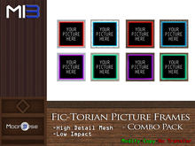 [MB3] Fic-Torian Picture Frames - Combo Pack