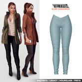 TETRA - Klee leggings (Aqua)