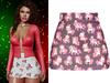 !PCP :: Mariah Skirt [Xmas Unipurple]