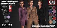 GAS [Ladies Suit Chayenne - 10 Colors w/HUD FATPACK]