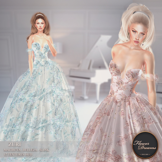 .:FlowerDreams:. Zuri gown Demo