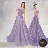 .:FlowerDreams:. Nina Gown - mauve
