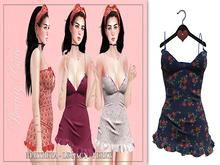 *Beauty Code* - Dress Stefanie - Pattern Blue
