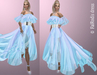 FaiRodis Winter Morning dress gown DEMO pack