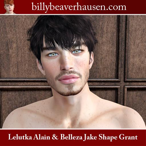 Lelutka Alain & Belleza Jake Shape Grant