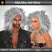 A&A Moy Hair Silver (unisex punk rocker hairstyle)