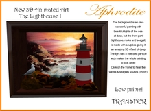 The  Lighthouse collection I - 3d Art- Transfer (boxed)