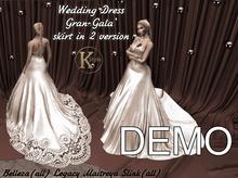 [K-Style] WEDDING DRESS GRAN GALA' WHITE - DEMO