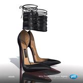 [Gos] Nicole Corset Heels - Black