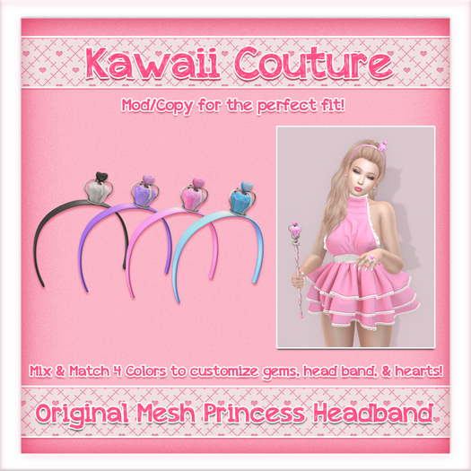 [: Kawaii Couture :] Princess Headband