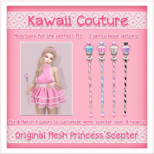 [: Kawaii Couture :] Princess Scepter