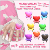 [: Kawaii Couture :] Heart Ring Pops