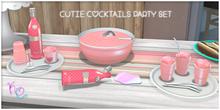 [: Kawaii Couture :] Cutie Cocktails Party Set - Tang