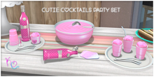[: Kawaii Couture :] Cutie Cocktails Party Set - Pink