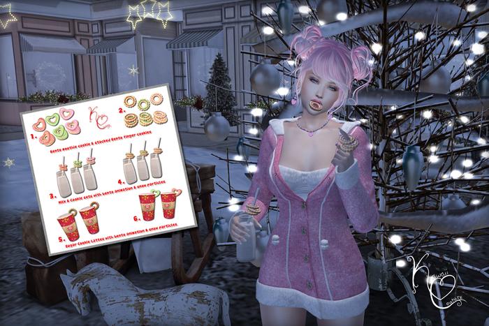 Kawaii Couture - ATCSL Snow Bunny Hunt Key - Set 2