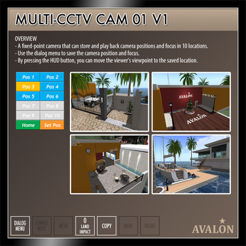 AVALON : Multi-CCTV Cam 01 v1.1
