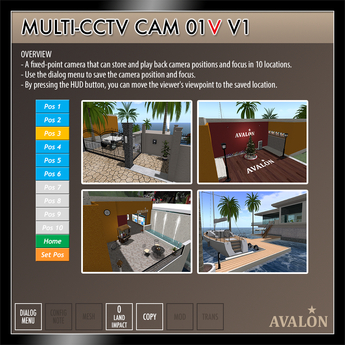 AVALON : Multi-CCTV Cam 01V v1.1