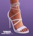 TETRA - Mona lace-up heels (DEMO)