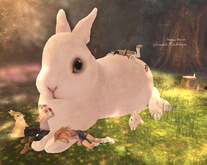 HPMD* GiantRabbit white (sit)