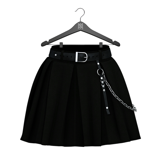 Little Fox - Courtney skirt // black