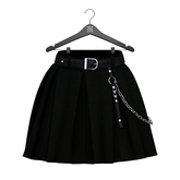 Little Fox - Courtney skirt // black