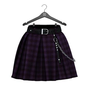 Little Fox - Courtney skirt // tartan4
