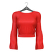 Little Fox - Anita sweater // red