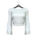 Little Fox - Anita sweater // white