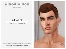 .minou minou. Alain Shape for Lelutka Alain head