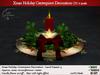 Xmas Holiday Centerpiece Decoration Christmas v2