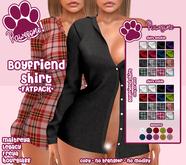 [Pawesome!] Boyfriend Shirt - Fatpack