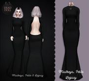 DEAD DOLL - Zara II Gown - Black
