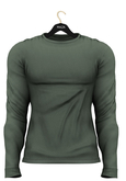 MAZA Sweater Belly Pooll //Green off//