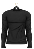 MAZA Sweater Belly Pooll //Black Off//
