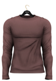 MAZA Sweater Belly Pooll // Wine//
