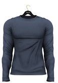 MAZA Sweater Belly Pooll // Blue//