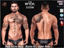 [HUD] Male Tattoo Applier Slink , Signature - Mantra V2